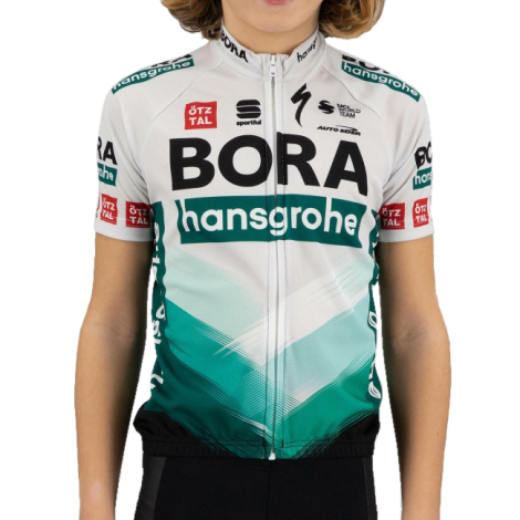 Sportful Bora-Hansgrohe Kids Short Sleeve Cycling Jersey - 2021