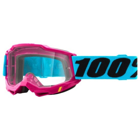 Image of 100% Accuri 2 MTB Goggles 2021 - Clear Lens - Lefleur / Clear Lens