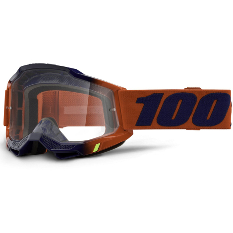 Image of 100% Accuri 2 MTB Goggles 2021 - Clear Lens - Kearny / Clear Lens