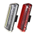 Moon Comet X Front & Rear Rechargeable Bike Light Set