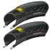 Continental GP5000 Folding Tyres With 2 Free Inner Tubes - Pair