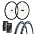 Vision Team 35 Comp SL Clincher Road Wheelset with Hutchinson Tyres