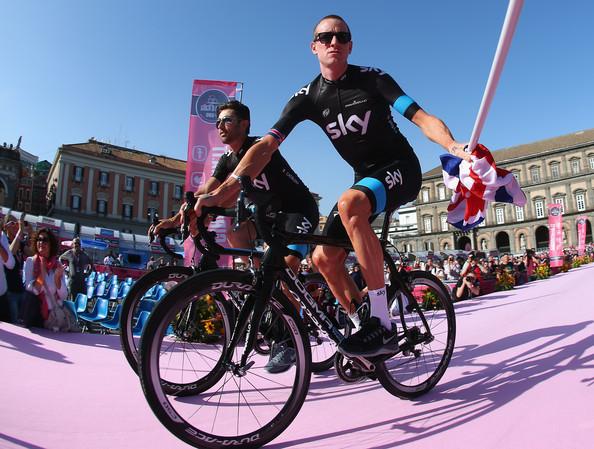 Sir Bradley Wiggins - Giro d'Italia Stage 4