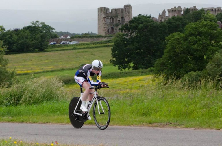 Bex Rimmington at the British Time Trial Championships