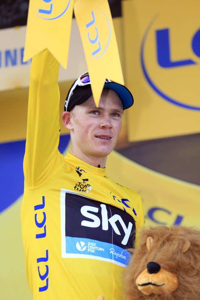 Stage 8 - Chris Froome