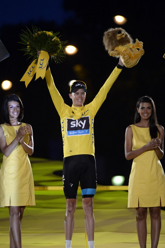 Well Done Chris Froome