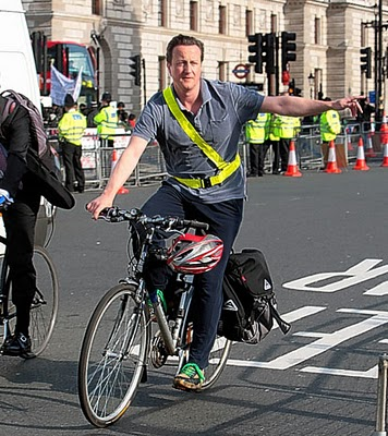 David Cameron £94m Cycling Campaign Investment