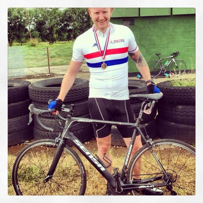Jon Gildea - British National Champion