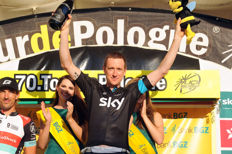 Wiggo Wins the Tour of Poland Time Trial Stage