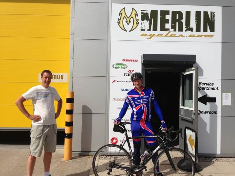 With John The Owner Of Merlin 1