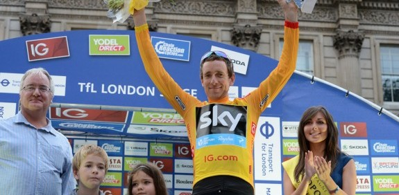 Sir Bradley Wiggins wins the Tour of Britain 2103