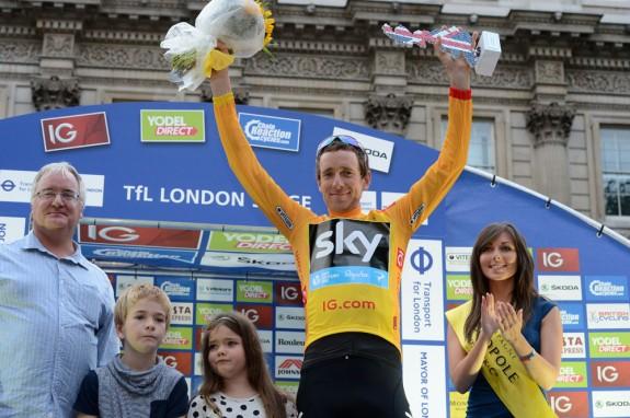 Sir Bradley Wiggins wins the Tour of Britain 2103