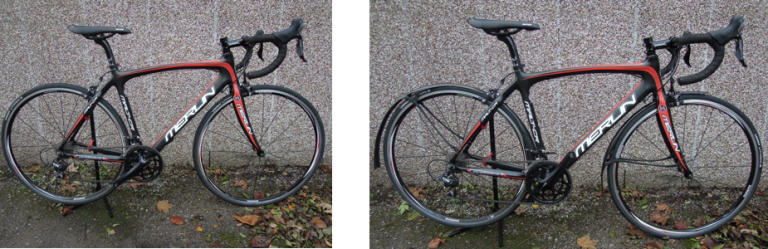 Merlin Malt CR with and without Mudguards