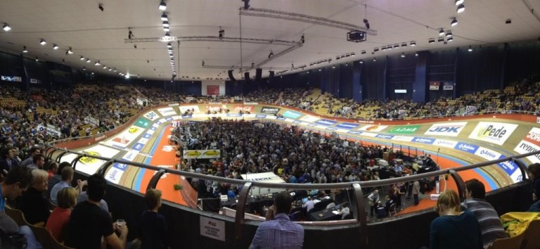 Cycling Track Event in Belgium