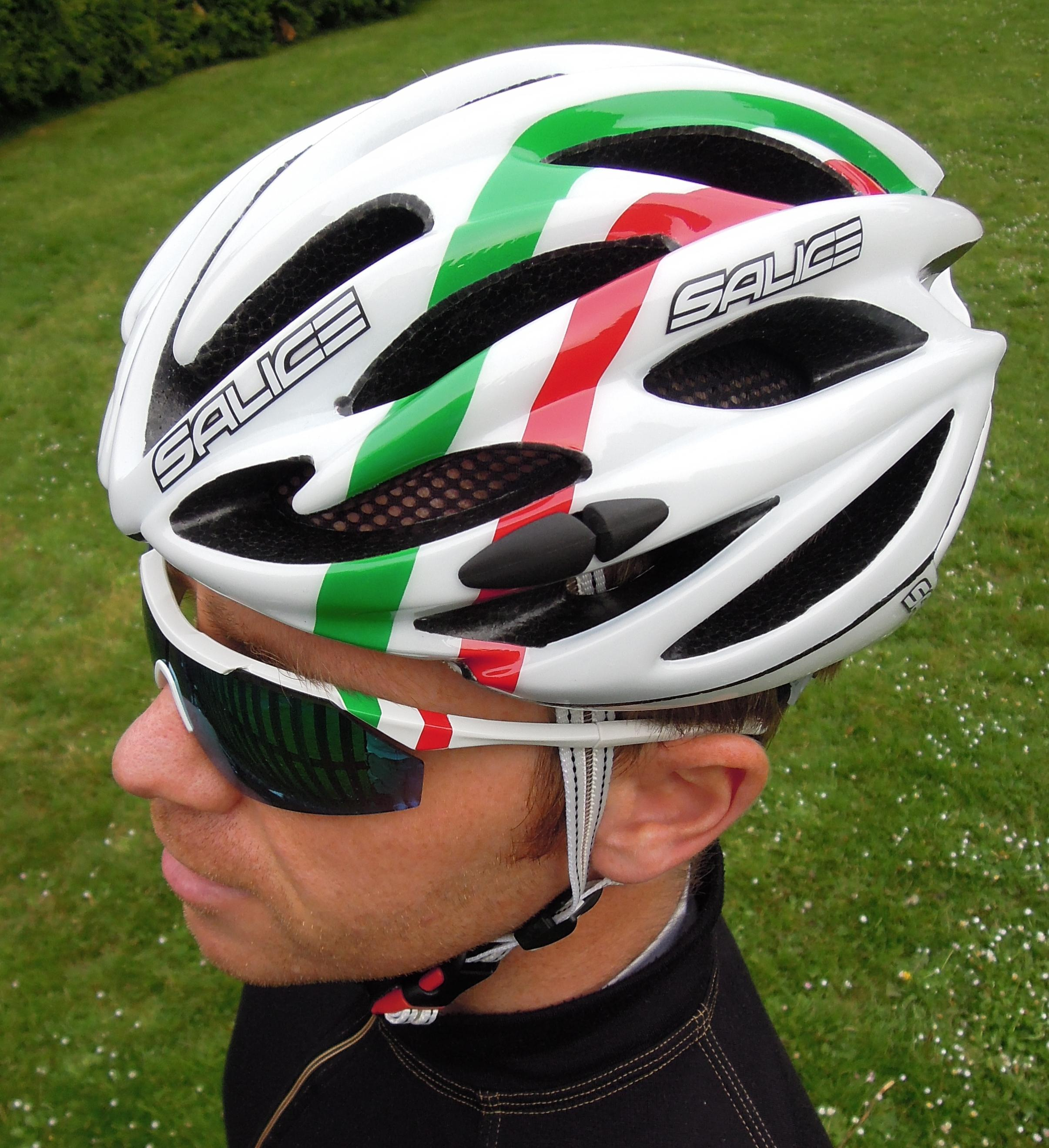 fdc033aab56 Review of Salice Bolt ITA Helmet and Glasses - Merlin Cycles Blog