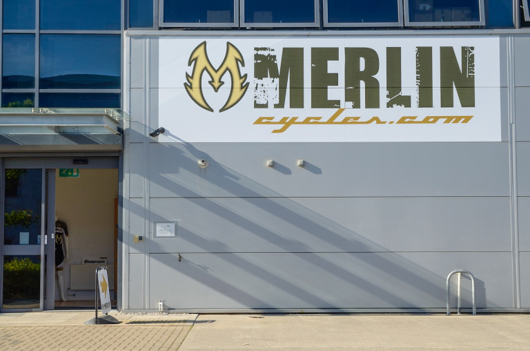 merlin cycles shop front