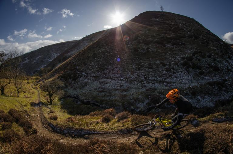 trail bike riding