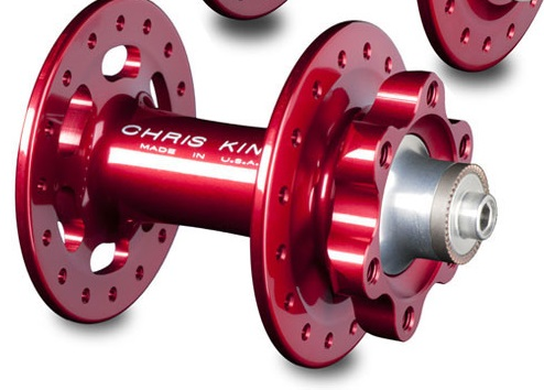 Hub with disc rotor mount holes