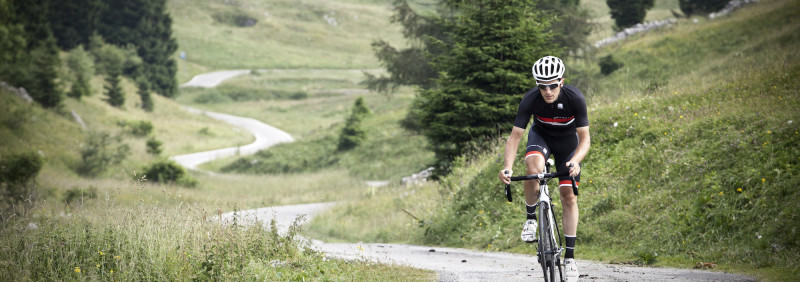 The iconic Monte Grappa is on Sportful's doorstep