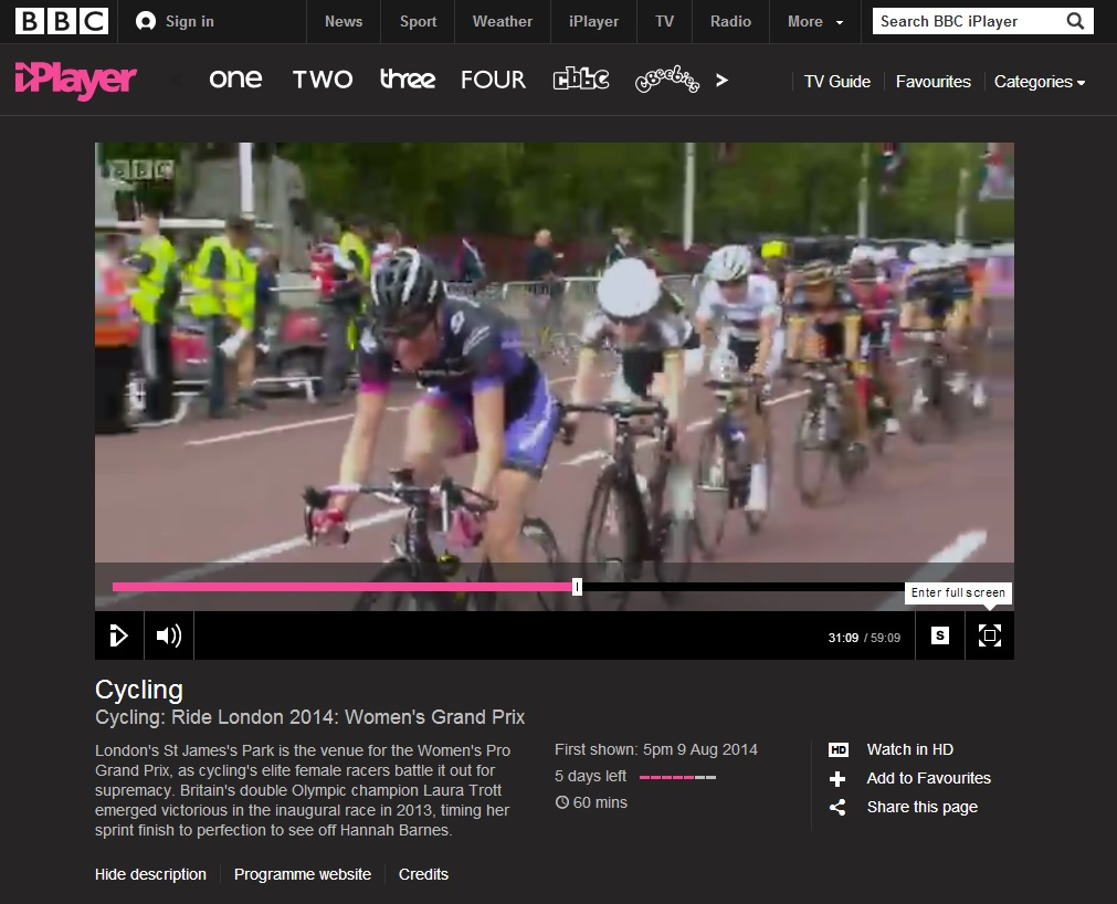 Bex on the Beeb