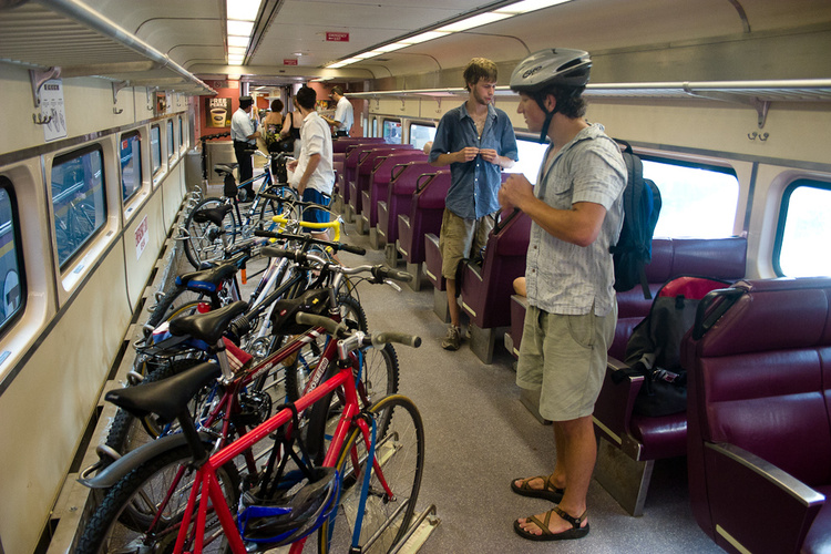 copenhagen bike coach train