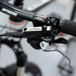 Full Shimano Deore gruppo with proper sized 180/160mm rotors