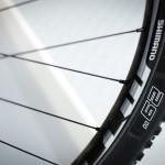 Shimano MT66 wheels and Schwalbe tyres