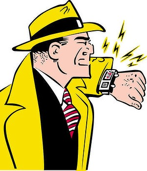 Dick Tracy was an early adopter