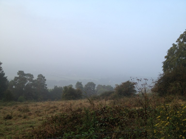 misty Ranmore view