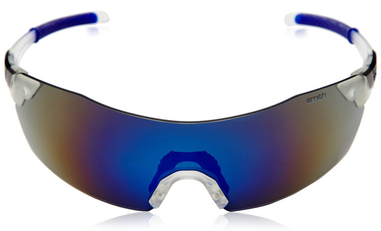 smith optics v2 pivlock blue mirror