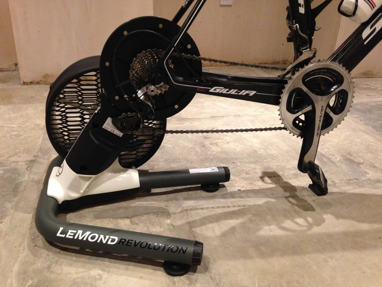 lemond revolution trainer bike mounted