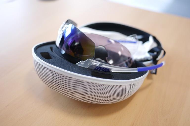 smith optic v2 blue mirror lens