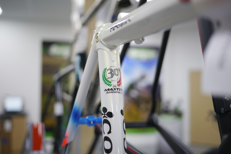 colnago master 30th anniversary seat tube decal