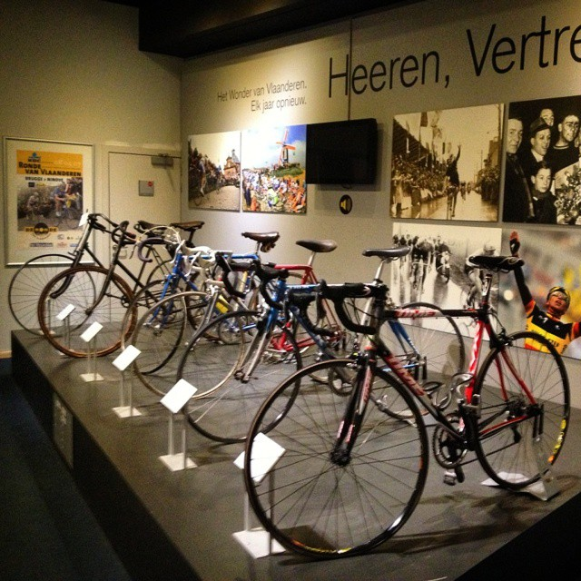 tour of flanders museum old bikes