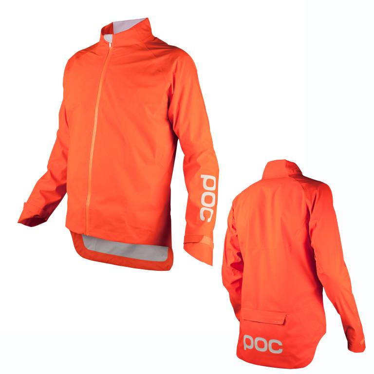 poc essential rain jacket