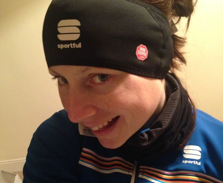 bex sportful headband and neck warmer