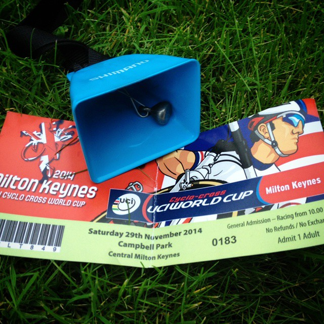 milton keynes cyclocross world cup bell and ticket