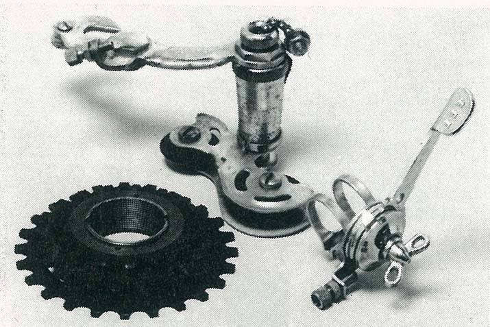 the first shimano derailleur system 1956