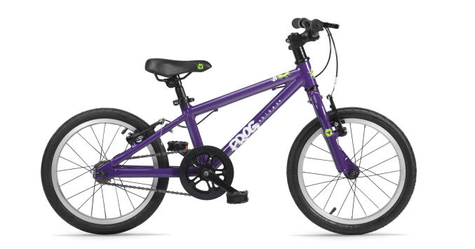 frog 48 kids bike purple