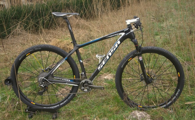 shimano xtr di2 on the sensa fiori tnt sl