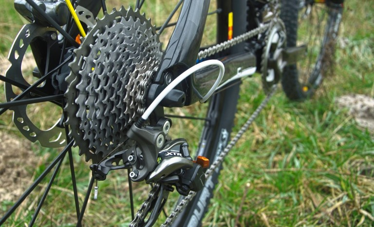 shimano xtr di2 rear mech and cassette