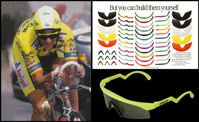 Oakley razor blade advert greg lemond