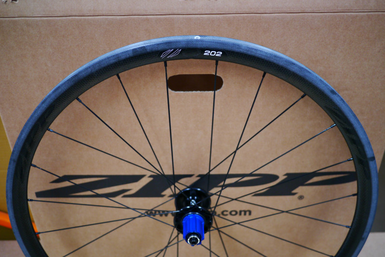 Zipp 202 Carbon Tubular Rear Wheel