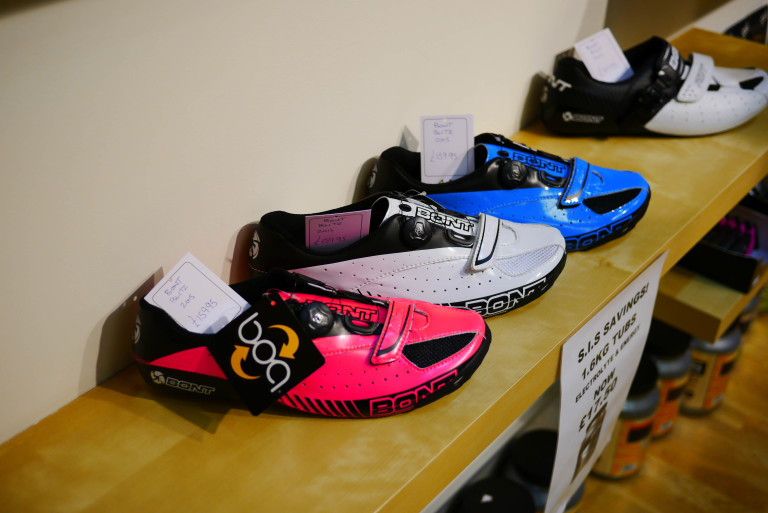 Bont Blitz road shoe