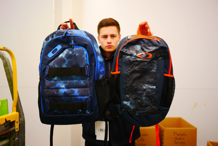 Oakley Method 360 and Sports 20 backpacks