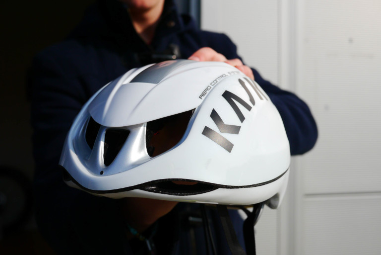Kask Infinity Aero Road helmet open