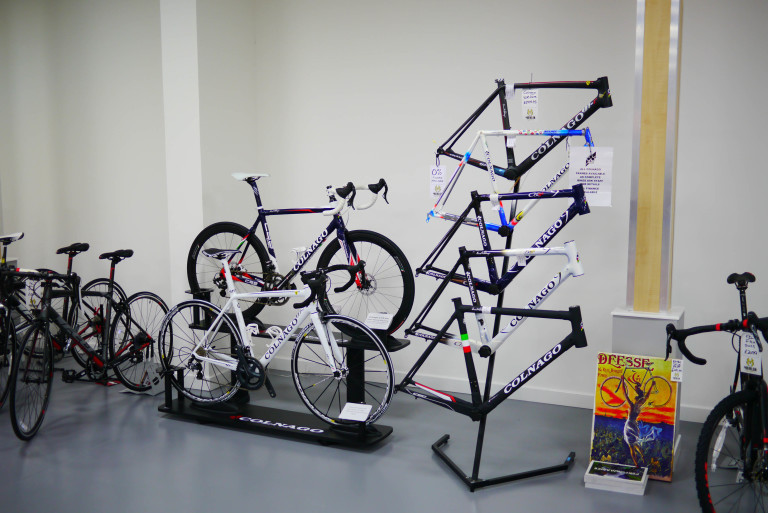 The Alter of Colnago