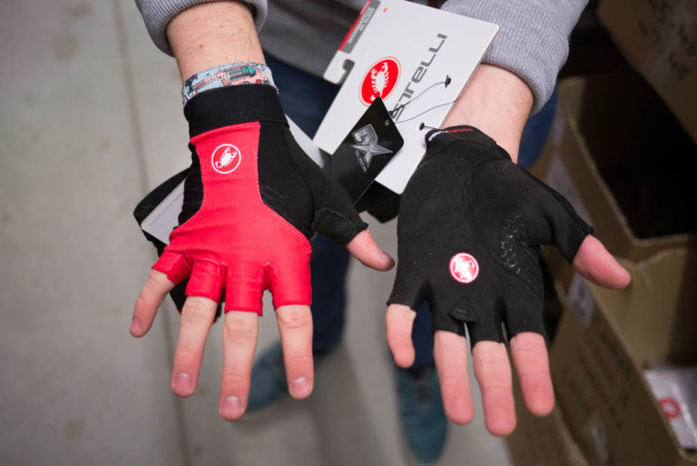 Castelli Presa and Secondapelle gloves