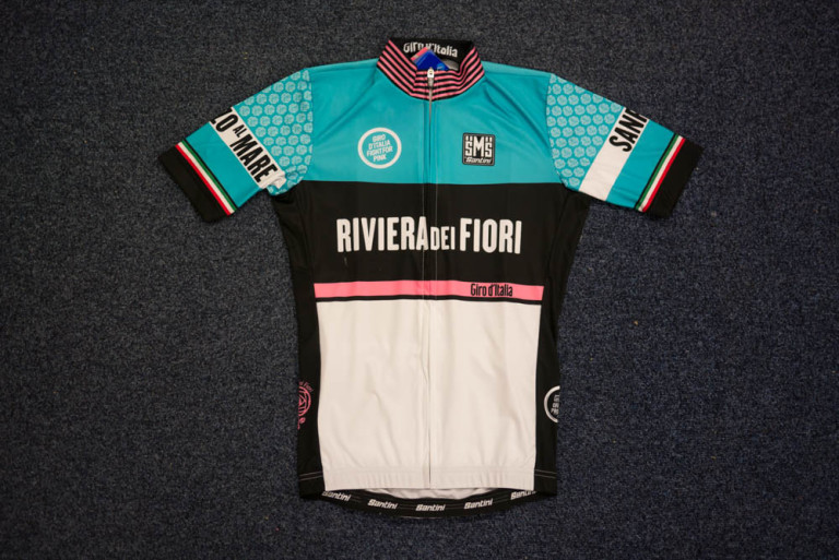 Santini Giro d'Italia Sanremo jersey
