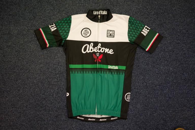 Santini Giro d'Italia La Spezia Abetone jersey